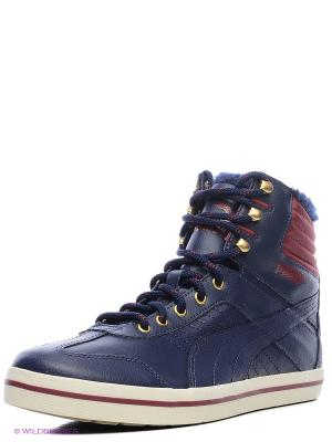 Кеды Tatau Sneaker Boot Puma. Цвет: синий
