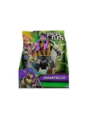 Фигурка Черепашки-ниндзя 28см Донателло, серия Movie Line Playmates toys. Цвет: зеленый, коричневый, фиолетовый, черный