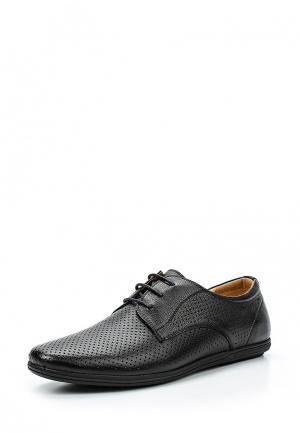 Туфли Quattrocomforto. Цвет: черный