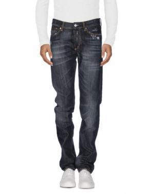 Джинсовые брюки ROŸ ROGER'S. Цвет: черный