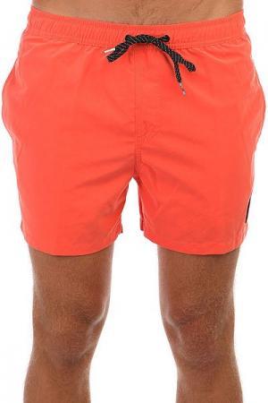 Шорты пляжные  Everysolidvol15 Apricot Quiksilver. Цвет: темно-оранжевый