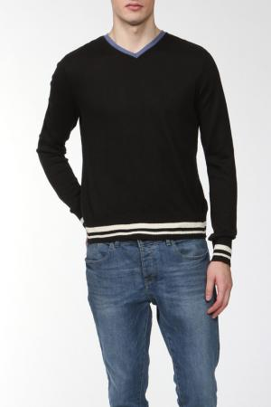 Пуловер IceBoys. Цвет: черный, голубой