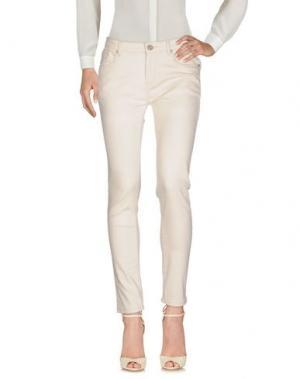 Повседневные брюки MOLLY BRACKEN. Цвет: светло-серый