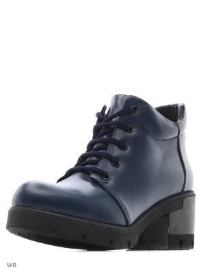 Ботинки Roccol. Цвет: темно-синий