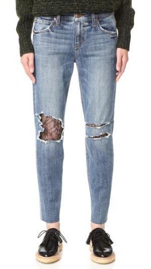 Джинсы Billie до щиколотки Joe's Jeans. Цвет: leora