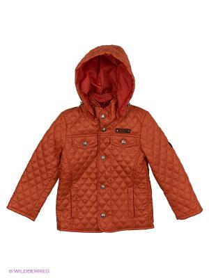 Куртка Disvey. Цвет: терракотовый