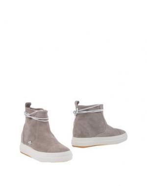 Полусапоги и высокие ботинки RUCO LINE. Цвет: голубиный серый