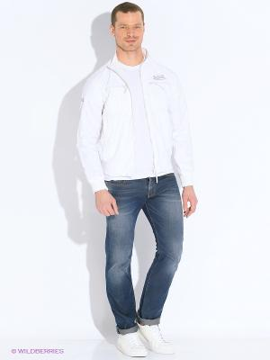 Куртка VON DUTCH. Цвет: белый