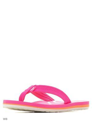 Пантолеты ROXY. Цвет: розовый