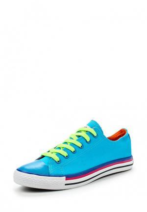 Кеды Dino Ricci Trend. Цвет: голубой