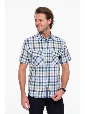 Рубашка Westrenger. Цвет: белый