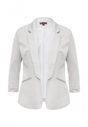 Пиджак Missi London. Цвет: серый