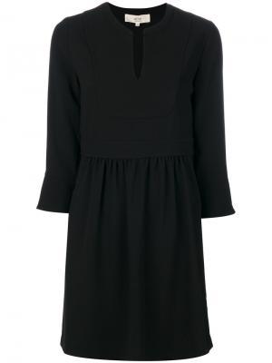 Классическое платье-шифт Vanessa Bruno Athé. Цвет: чёрный