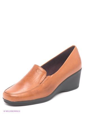 Туфли Pitillos. Цвет: светло-коричневый, черный
