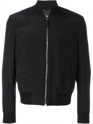 Куртка-бомбер на молнии Paul Smith. Цвет: чёрный