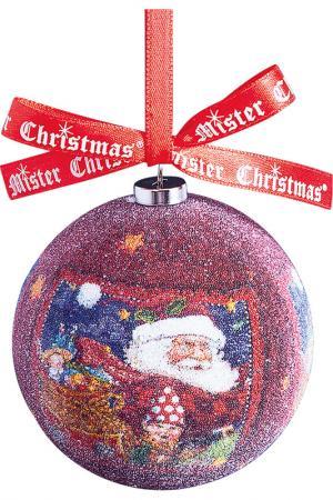 Набор шаров Mister Christmas. Цвет: бордовый