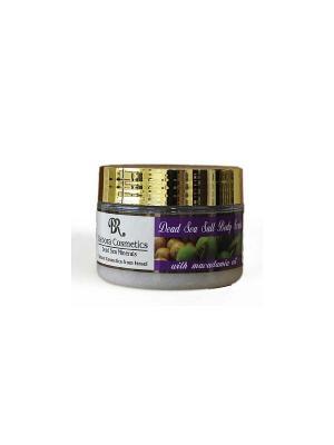 Солевой пилинг для тела с маслом макадамии Debora Cosmetics. Цвет: бежевый