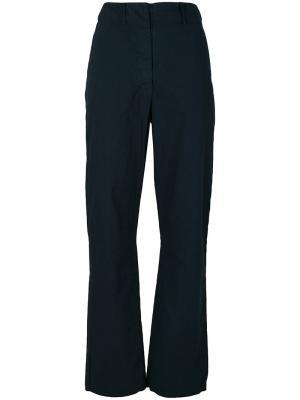 Прямые брюки Kristensen Du Nord. Цвет: синий