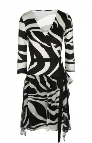 Платье Diane Von Furstenberg. Цвет: черно-белый
