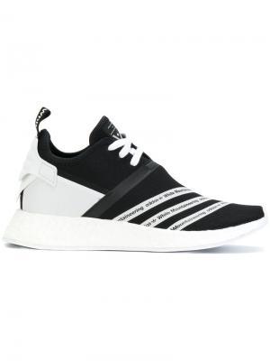 Кроссовки со шнуровкой Mountaineering Adidas By White. Цвет: чёрный