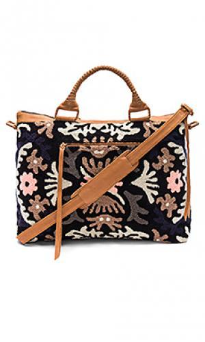 Дорожная сумка violetta Cleobella. Цвет: черный