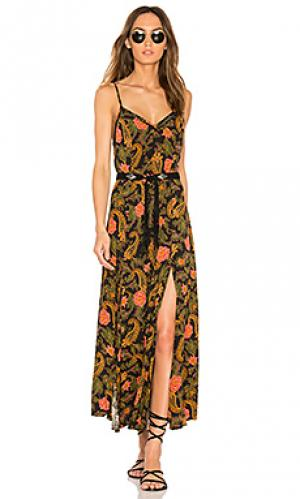 Платье со шлейками etienne Spell & The Gypsy Collective. Цвет: черный