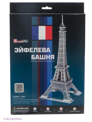 Эйфелева Башня2 (Франция) CubicFun. Цвет: серый