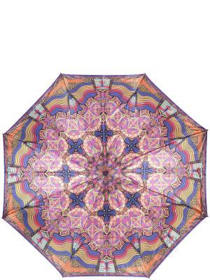 Зонт Eleganzza. Цвет: синий, оранжевый, фиолетовый