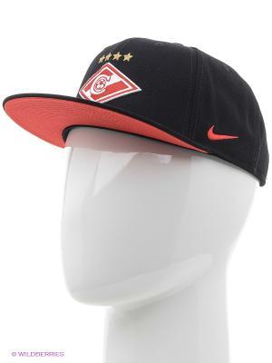 Бейсболка SPARTAK CORE Nike. Цвет: черный, красный