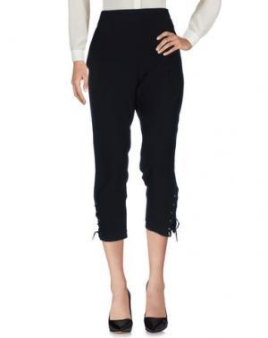 Повседневные брюки VANESSA BRUNO ATHE'. Цвет: черный