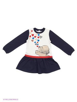 Платье Baby Line. Цвет: синий