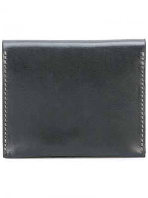 Бумажник с откидным верхом Ally Capellino. Цвет: чёрный