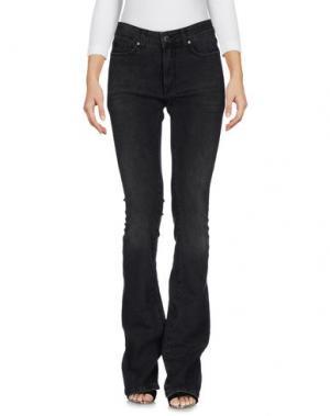 Джинсовые брюки SPACE STYLE CONCEPT. Цвет: стальной серый