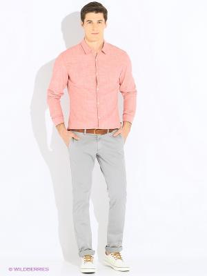 Рубашка S.OLIVER. Цвет: коралловый