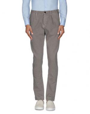 Повседневные брюки MAESNA. Цвет: хаки