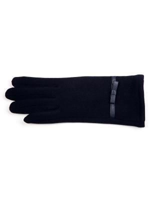 Перчатки J&Elisabeth. Цвет: темно-синий