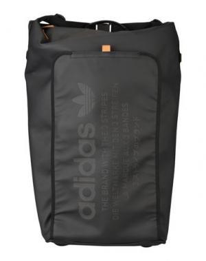 Чемодан/сумка на колесиках ADIDAS ORIGINALS. Цвет: черный