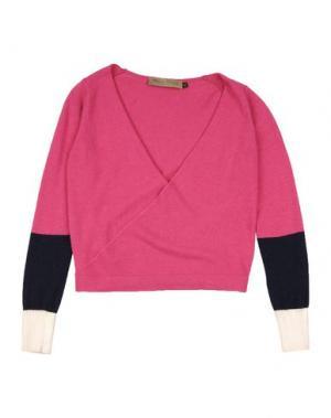 Кардиган MANILA GRACE DENIM. Цвет: розовато-лиловый