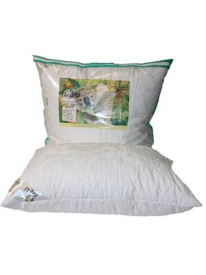 Подушка стеганая 70*70 Эвкалипт BegAl. Цвет: белый
