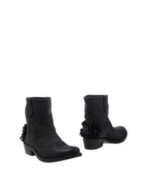 Полусапоги и высокие ботинки TWIN-SET Simona Barbieri. Цвет: стальной серый
