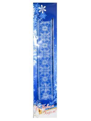 Полотенце банное, коллекция Новый год, 50х90 см, 100% Хлопок Dorothy's Нome. Цвет: синий