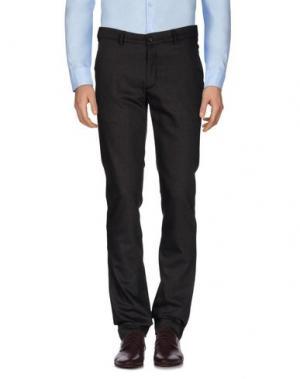 Повседневные брюки REVERES 1949. Цвет: темно-коричневый