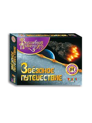 Волшебная планета игр Звездное путешествие сборник настольных 4в1 TopGame. Цвет: черный, желтый, серый