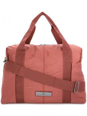 Дорожная сумка Adidas By Stella Mccartney. Цвет: розовый и фиолетовый
