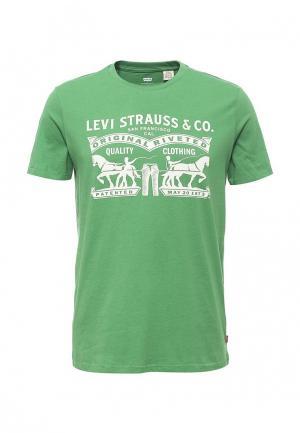 Футболка Levis® Levi's®. Цвет: зеленый