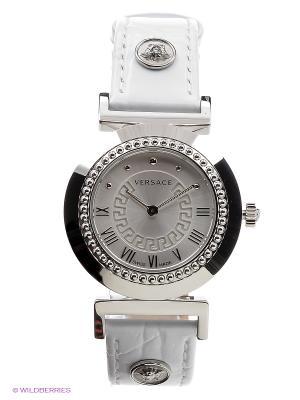 Часы Versace. Цвет: серебристый