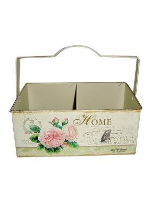 Ящик для хранения Gift'n'Home. Цвет: бежевый, розовый, золотистый, зеленый