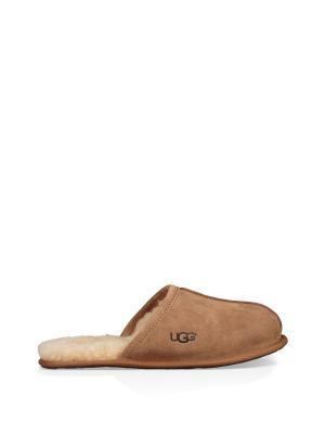 Тапочки UGG. Цвет: светло-коричневый