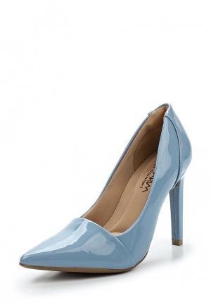 Туфли Ramarim. Цвет: голубой