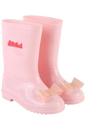 Сапоги BILLIEBLUSH. Цвет: светло-розовый
